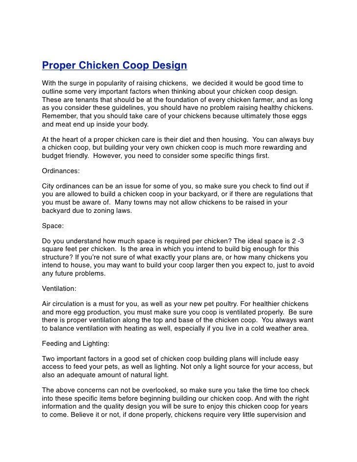guide to chicken coop maintenance