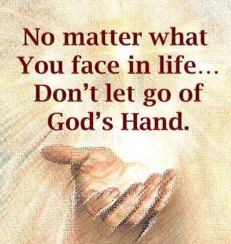 lets the hand of god guiding me