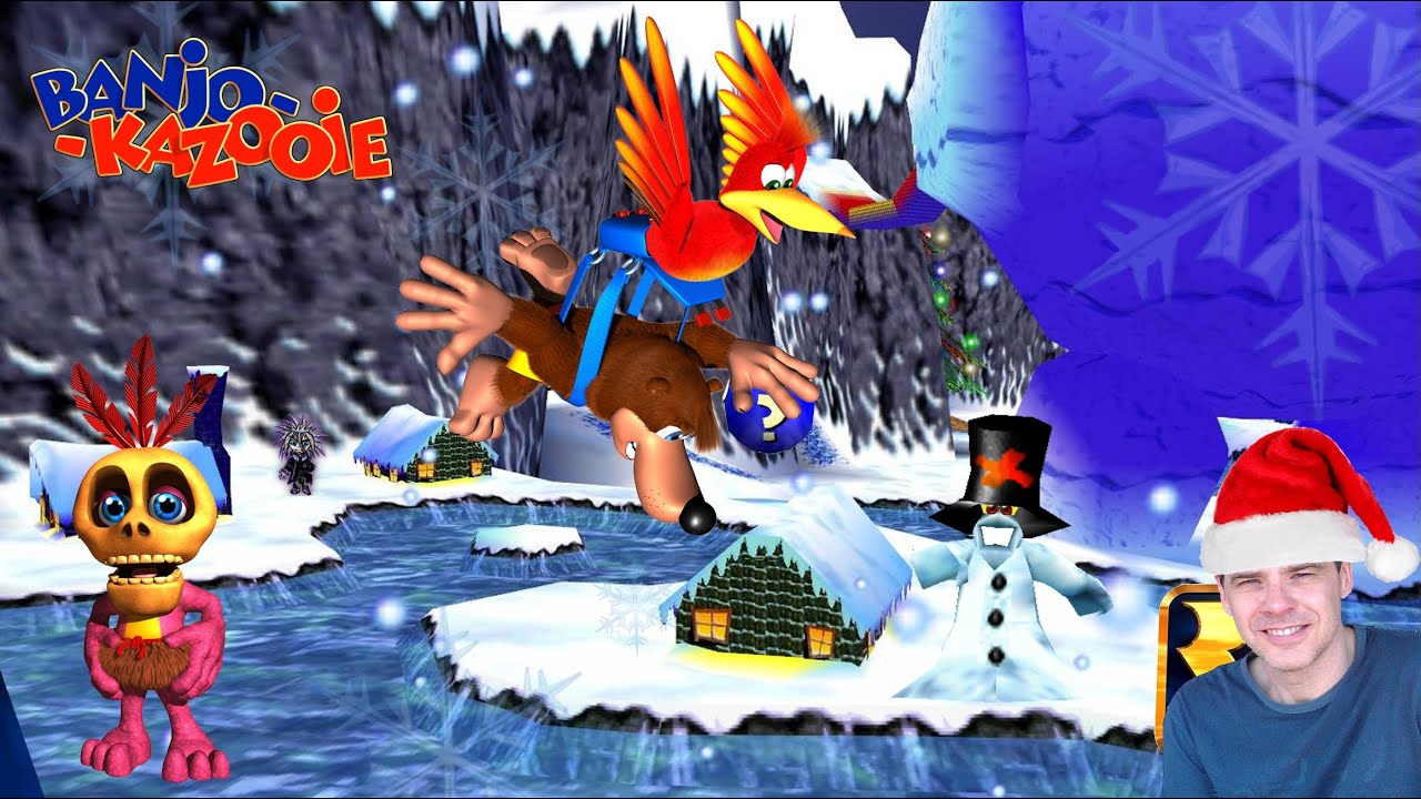 banjo kazooie guide freezeezy peak